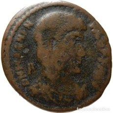 Monedas Imperio Romano: AE FOLLIS DEL EMPERADOR MAGNENCIO. GLORIA ROMANORVM.. Lote 129660034