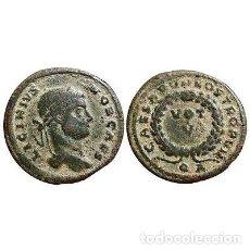 Monedas Imperio Romano: LICINIO II, FOLLIS DE BRONCE. ARLES. CAESARVM NOSTRORVM.VOT V - QA.. Lote 131004409