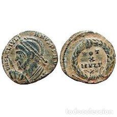 Monedas Imperio Romano: JULIANO II CON CASCO AE18. CECA DE ARLES.VOT /X/MVLT/XX/ (PCONST).. Lote 131004489