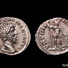 Monedas Imperio Romano: DENARIO. EMPERADOR LUCIO VERO. ROMA. LUCIUS VERUS.. Lote 111536295