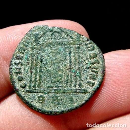 Monedas Imperio Romano: Maxentius (307-312). Follis de bronce. Roma.CONSERV VRB SVAE / RBP. - Foto 2 - 133140267