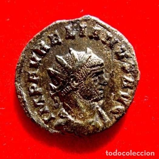 AURELIANO (270 -275 D.C.). ANTONINIANO, SISICIA. RESTITUT ORIENTIS. (Numismática - Periodo Antiguo - Roma Imperio)