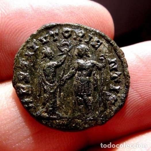Monedas Imperio Romano: Aureliano (270 -275 d.C.). Antoniniano, Sisicia. RESTITUT ORIENTIS. - Foto 3 - 133524183