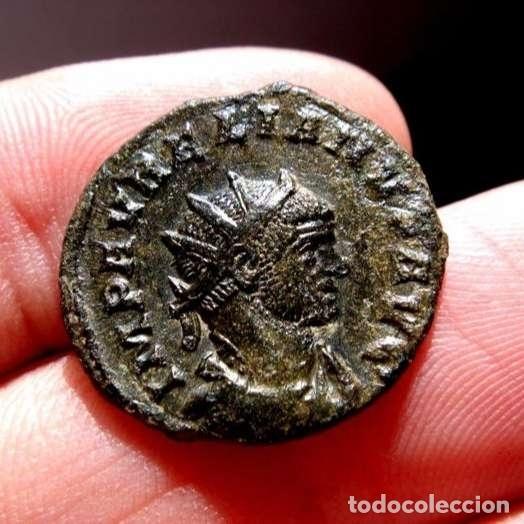 Monedas Imperio Romano: Aureliano (270 -275 d.C.). Antoniniano, Sisicia. RESTITUT ORIENTIS. - Foto 4 - 133524183