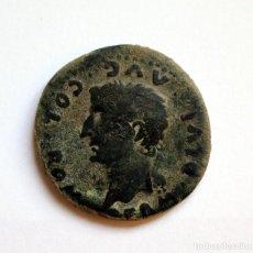 Monedas Imperio Romano: AS TIBERIO COLONIA HISPALIS ROMULA SEVILLA 14-36 D.C.. Lote 133581450