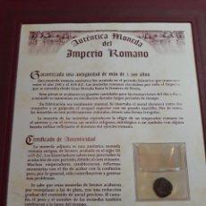 Monedas Imperio Romano: AUTÉNTICA MONEDA DEL IMPERIO ROMANO. Lote 133590289