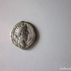 Monedas Imperio Romano: DENARIO DE MARCO AURELIO. MARTE EN MARCHA. PLATA.. Lote 135082590