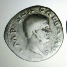 Monedas Imperio Romano: DENARIO 68-69 DC GALBA MBC CON CERTIFICADO AUTENTICIDAD. Lote 137781674