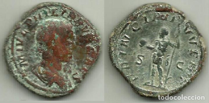 FILIPO II (HIJO) - SESTERCIO (PRINCIPI IVVENT) - 247 / 249 D C. (Numismática - Periodo Antiguo - Roma Imperio)