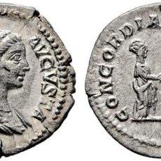 Monedas Imperio Romano: PLAUTILLA. DENARIO. 212. CONCORDIA FELIX. SC, SIN CIRCULAR. BUEN RETRATO. BONITO EJEMPLAR. Lote 141546446