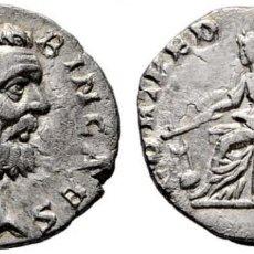 Monedas Imperio Romano: CLODIO ALBINO. DENARIO. FORT REDVCI COS II. VARIANTE SIN RUEDA. EBC+/EBC. BUEN RETRATO. Lote 141548466