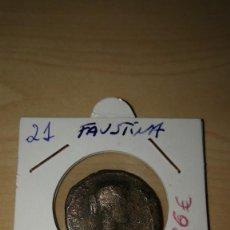 Monedas Imperio Romano: FAUSTINA. Lote 141936950