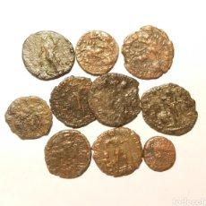 Monedas Imperio Romano: LOTE 10 MONEDAS ROMANAS. Lote 142435038
