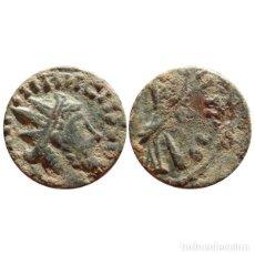 Monedas Imperio Romano: TÉTRICO I ( 271-274 ), ANTONINIANO DE BRONCE. PAX AVG. TOP BARBARO!. Lote 142572282