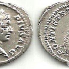Monedas Imperio Romano: CARACALLA - DENARIO - ROMA 206 D C. - MBC.. Lote 142908862