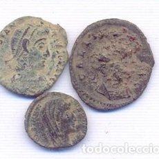Monedas Imperio Romano: BUEN LOTE DE 3 MONEDAS ROMANAS. Lote 143142678