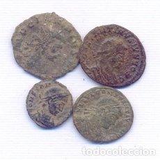 Monedas Imperio Romano: INTERESANTE LOTE DE 4 MONEDAS ROMANAS. Lote 143143066