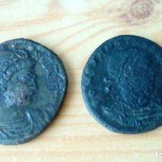 Monedas Imperio Romano: 2 MONEDAS ROMANAS DE CONSTANTINO EL GRANDE. Lote 143143378
