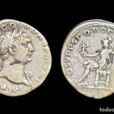 Monedas Imperio Romano: DENARIO DE TRAJANO - COS V PP SPQR OPTIMO PRINCIPI - 19 MM / 3,55 GR.. Lote 143553750