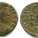 Monedas Imperio Romano: VALENTE 17 M/M REVERSO GLORIA ROMANORUN CECA TESALONICA2ª OFICINA. Lote 143791910