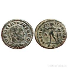 Monedas Imperio Romano: LICINIO I FOLLIS. ROMA. R/F. RS. SOLI INVICTO COMITI. MUY RARO.. Lote 143815684