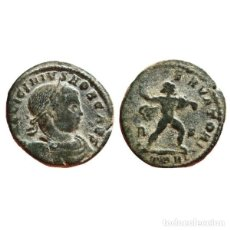 Monedas Imperio Romano: LICINIO II COMO CÉSAR FOLLIS. ARLES. R/S TARL. IOVI CONSERVATORI.. Lote 143815850