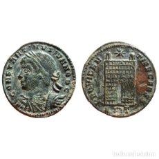 Monedas Imperio Romano: CONSTANTINO II FOLLIS. ROMA. R GUIRNALDA T. PUERTA DE CAMPAMENTO.. Lote 143816018