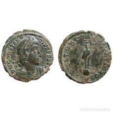 Monedas Imperio Romano: CONSTANCIO II AE18. CONSTANTINOPLA. CONSΘ. FEL TLEMP REPARATIO.. Lote 143816189