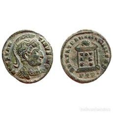 Monedas Imperio Romano: CONTANTINO I CON CASCO FOLLIS DE BRONCE. TRIER. PTR·. VOT/IS/XX.. Lote 143816248