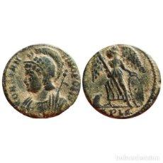 Monedas Imperio Romano: CONSTANTINOPOLIS FOLLIS DE BRONCE. LUGDUNUM. *PLG. VICTORIA EN PROA.. Lote 143816398