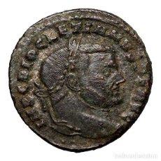 Monedas Imperio Romano: DIOCLECIANO (284-305), FOLLIS, ROME. SAC MON VRB AVGG ET CAESS. Lote 143819049
