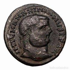 Monedas Imperio Romano: MAXIMINIANO HERCULEO (286-310 DC) FOLLIS, ALEJANDRIA, GENIO POPVLI. Lote 143821316