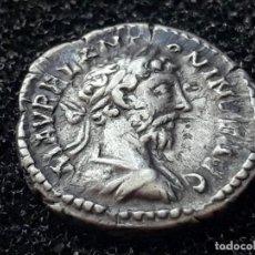 Monedas Imperio Romano: ROMA -DENARIO .. DENARIO DE MARCO AURELIO. PROCEDENTE DE SUBASTA INTERNACIONAL ..PESO 3,05G. Lote 143887138