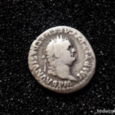 Monedas Imperio Romano: ROMA -DENARIO DE VESPASIANO. DENARIO GENUINO Y PROCEDENTE DE SUBASTA INTERNACIONAL... Lote 143887218