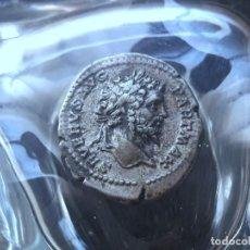 Monedas Imperio Romano: IMPERIO ROMANO -DENARIO DE SEVERO DENARIO GENUINO Y PROCEDENTE DE SUBASTA INTERNACIONAL..PESO 3,55G. Lote 143887758
