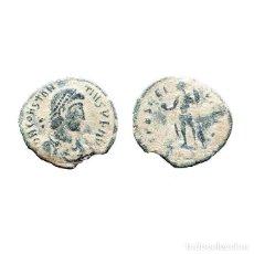 Monedas Imperio Romano: ESCASO CONSTANCIO II, Æ4, ARLES PCON SPES REI PVBLICE. (498-L). Lote 143903436
