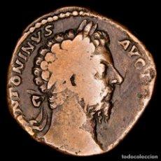 Monedas Imperio Romano: MARCO AURELIO (161-180 D.C.) SESTERCIO. ROMA, IMP VI COS III/ SC. Lote 143904228