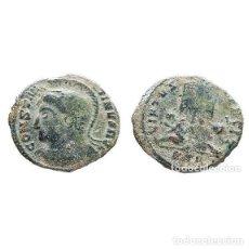 Monedas Imperio Romano: CONSTANTINO I, Æ FOLLIS, TRIER, STR. (513-L). Lote 143904593