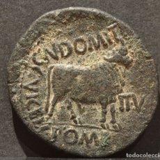 Monedas Imperio Romano: AS AUGUSTO COLONIA VICTRIX IULIA CELSA VELILLLA DE EBRO ZARAGOZA (5-3 A.C). Lote 133986154