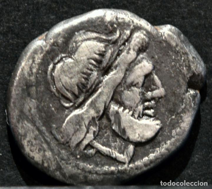 QUINARIO ANÓNIMO ROMA VICTORIATO (211-206 A.C) (Numismática - Periodo Antiguo - Roma Imperio)