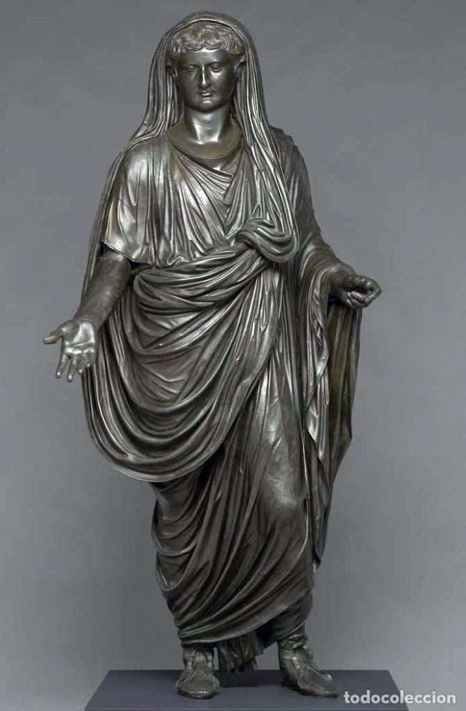 Monedas Imperio Romano: PRECIOSO ANILLO DE ROMANO USADO POR SACERDOTES. - Foto 10 - 190763830