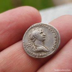 Monedas Imperio Romano: DENARIO DE TRAJANO. Lote 145087026