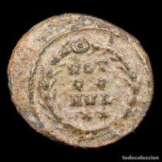 Monedas Imperio Romano: MAXENTIUS (307-312 D.C.).1/4 FOLLIS. ROMA.VOT Q Q MVL X X. MUY RARA. Lote 145969304