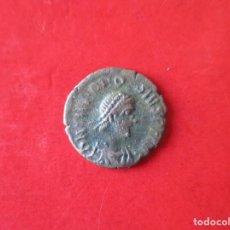 Monete Impero Romano: I. ROMANO. THEODOSIO. 370/395. 1/4 CENTIONALIS. #MN. Lote 146495178