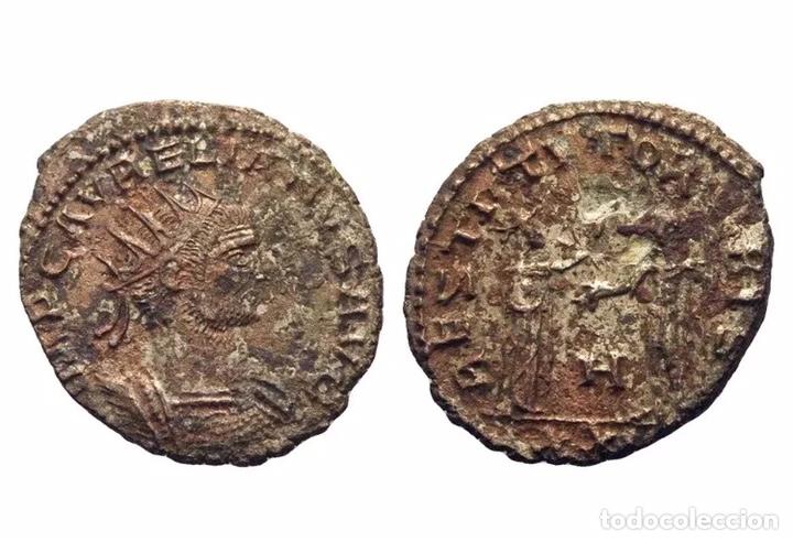 ANTONINIANUS LUCIUS DOMITIUS AURELIANUS 270 TO 275 MUY RARO PRECIOSA (Numismática - Periodo Antiguo - Roma Imperio)