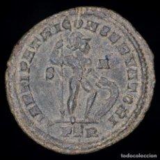 Monedas Imperio Romano: CONSTANTINO I, FOLLIS DE BRONCE, TRIER. MARTI PATRI CONSERVATORI. Lote 147488661