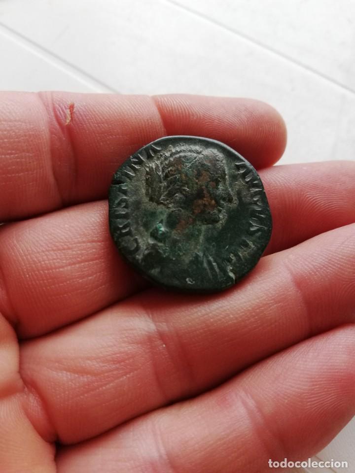 SESTERCIO DE CRISPINA (Coins - Ancient Period - Roman Empire)