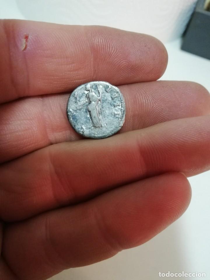 Roman Empire Coins: DENARIO DE ANTONINO PIO - Foto 2 - 147759390