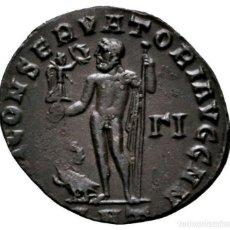 Monedas Imperio Romano: IMPERIO ROMANO - AE FOLLIS, LICINIUS I. (308-324) - ANTIOQUÍA JÚPITER. Lote 148105574