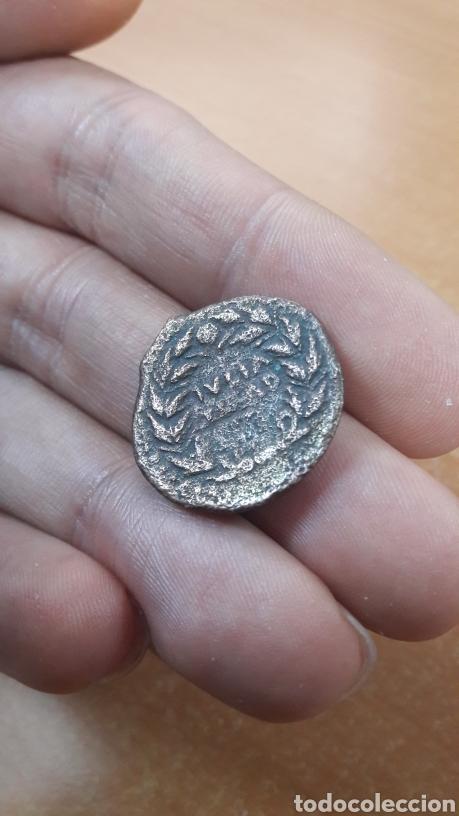 BONITA MONEDA ROMANA AS DE AUGUSTO DE LA CIUDAD HISPANA IULIA TRADUCTA (Numismática - Periodo Antiguo - Roma Imperio)